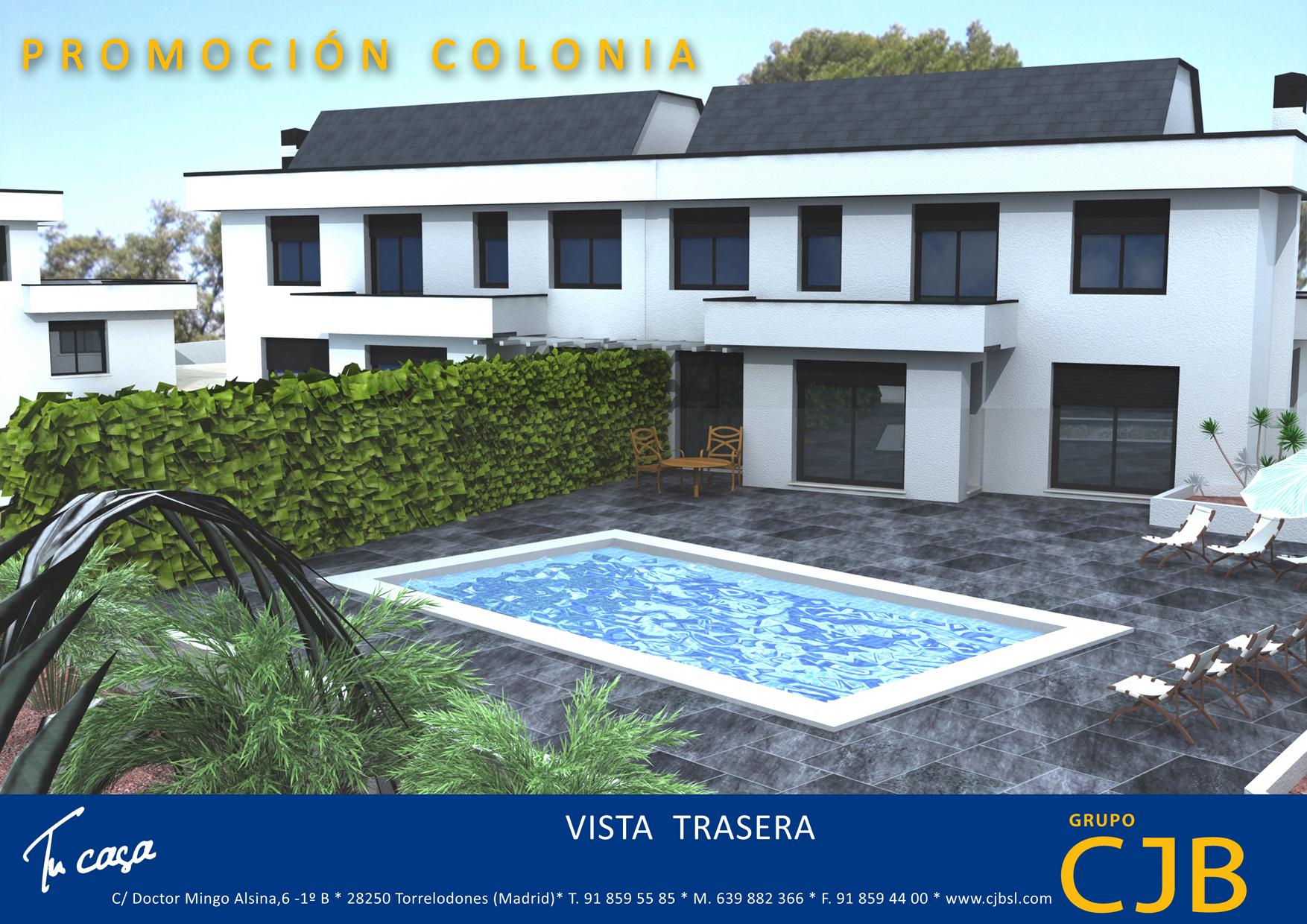 Residencial monte ines 3 viviendas unifamiliares en - Viviendas en torrelodones ...