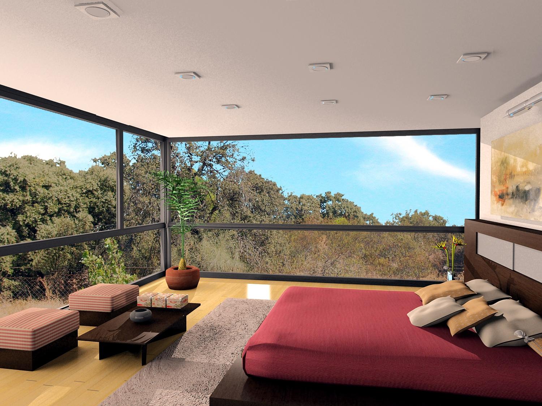Pe ascales golf 5 viviendas de ensue o for Dormitorios de ensueno